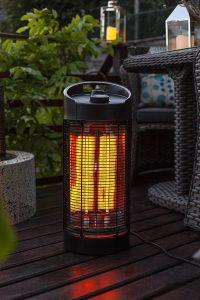 MaxxGarden Chauffage électrique de Table - Radiateur à Infrarouge
